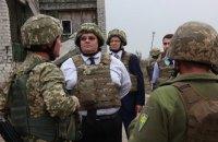 Глава МИД Литвы посетил Мариуполь и прифронтовое Широкино