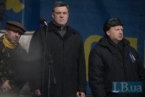 """Тягнибок не виключає домовленостей з лідером """"Правого сектору"""""""