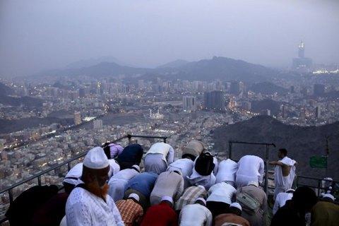 На хадж у Саудівську Аравію прибули 1,8 млн паломників