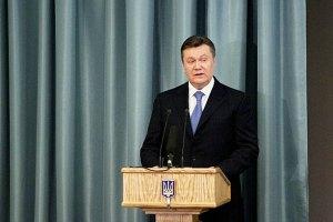 Янукович пожелал митрополиту Киевскому божьего благословения