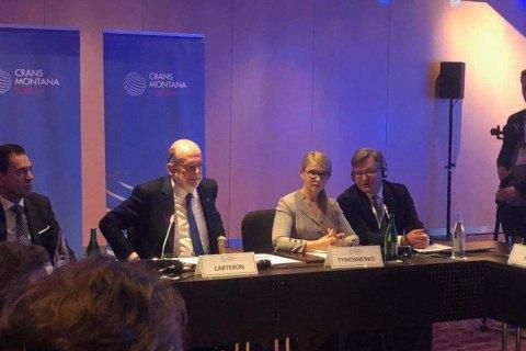 Тимошенко: війна на Донбасі триває вже довше за Першу світову