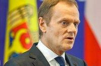 Глава Евросовета Туск поговорил по телефону с Зеленским и Порошенко