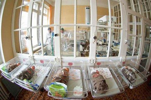 За чверть року видано понад 75 тис. свідоцтв про народження