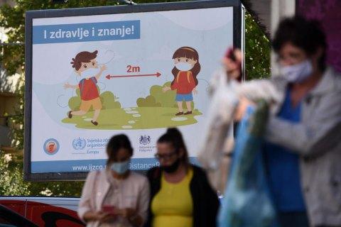 ВОЗ прогнозирует в Украине по 7-9 тысяч новых случаев COVID-19 ежедневно