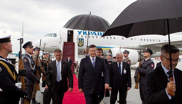 Президент Украины Виктор Янукович принял участие в торжественной церемонии открытия Евро-2012