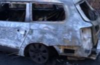 В Запорожье сожгли автомобиль волонтера