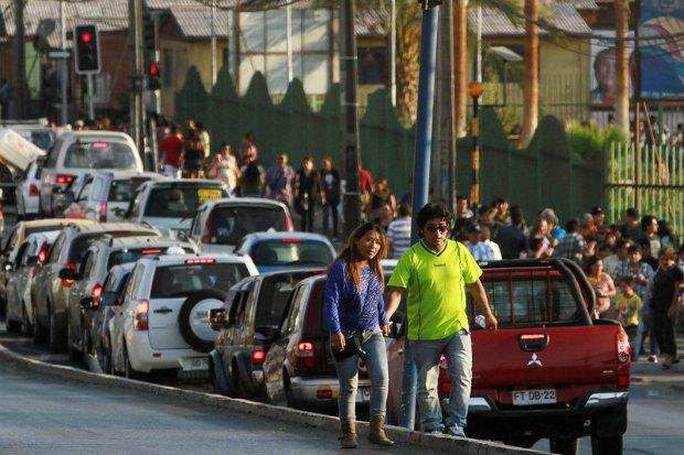Чилийцы покидают прибрежные районы из-за угрозы цунами