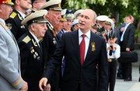 Путин в Крыму призвал уважать право россиян на самоопределение