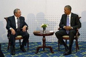 Обама и Кастро провели переговоры