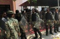 На Мальдивах оппозиция требует импичмента президента, армия окружила парламент