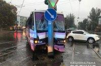 В Одесі маршрутка врізалася у стовп, 9 постраждалих