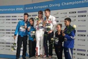Україна завоювала медаль на ЧЄ зі стрибків у воду