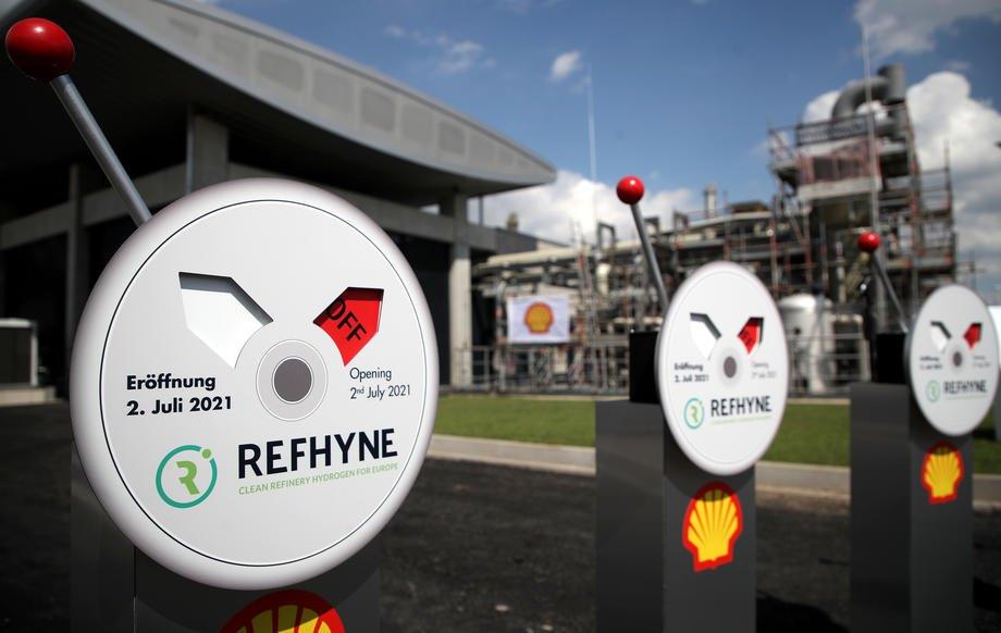 Завод з виробництва водню компанії Shell у Весселінзі, Німеччина, 02 липня 2021 року