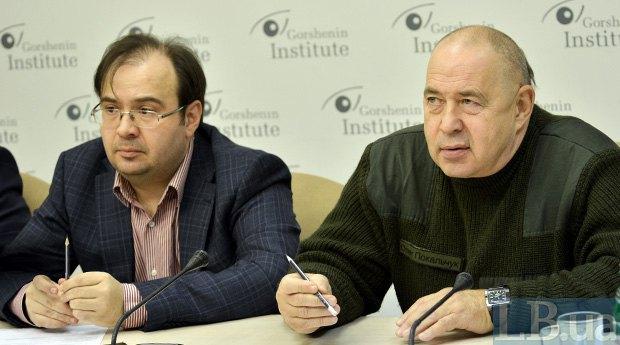 Олег Покальчук (справа) та Олег Базар