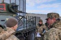 Уруський відвідав зону ООС, щоб оцінити ситуацію з озброєнням
