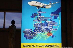 Лоукост Ryanair намерен начать полеты в Украину