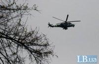 Над Славянском замечены боевые вертолеты