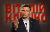 Кличко набирає більше 56% голосів на виборах мера Києва