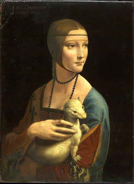 Леонардо да Винчи, Дама с горностаем