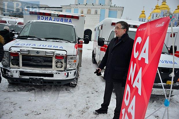 Посол Канады в Украине Роман Ващук