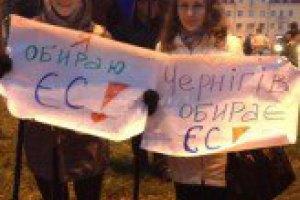 Милиция разогнала Евромайдан в Чернигове