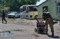 Під Макіївкою терористи підірвалися на фугасі