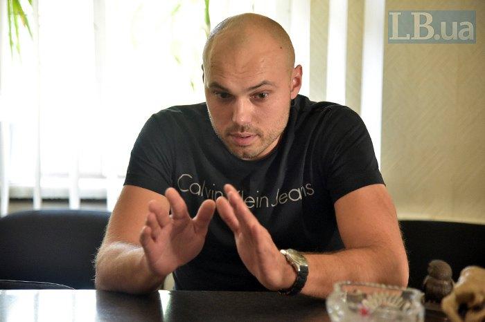 Директор частного центра реабилитации Дмитрий Диденко