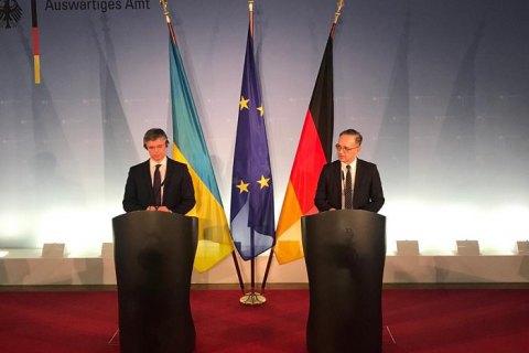 """Главы МИД Украины и Германии рассчитывают на прогресс в переговорах """"нормандской четверки"""""""