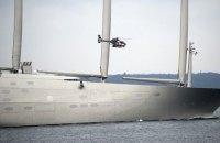 В Гибралтаре арестовали самую большую в мире яхту