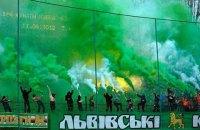 """Чотирьох фанатів """"Карпат"""" затримали за бійку з поліцією в Одесі"""