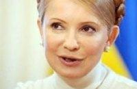 Тимошенко готовится в футболисты
