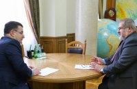 Полторак предложил крымским татарам с Чонгара вступить в морпехи
