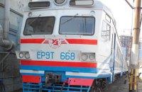 """""""Укрзализныця"""" выпустила на маршруты две модернизированные электрички"""