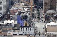 У Новому Орлеані завалився недобудований готель, є жертви