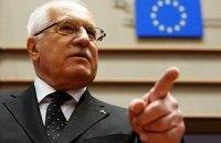 Чеський президент ветував пенсійну реформу