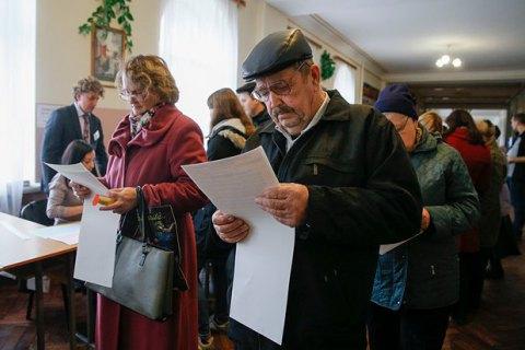 Явка в Києві - 20-22%, в Одесі - 29%, у Львові - 34%