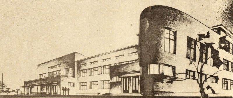 Проект клубу заводу Більшовик