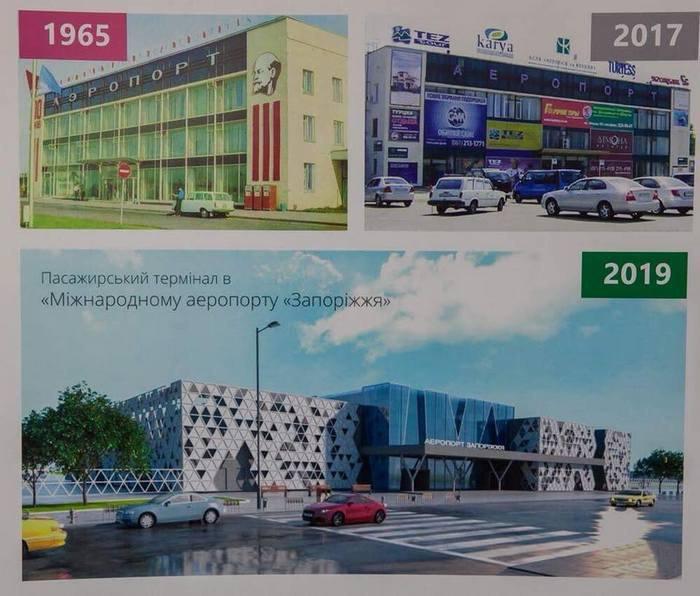 Ваэропорту «Запорожье» до 2020-ого построят новый терминал
