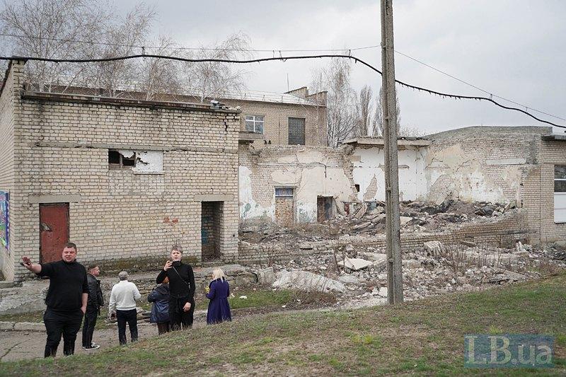 Школа в Тошківці, куди влучив снаряд
