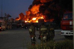 Слідство розглядає версію про підпал нафтобази під Києвом власниками