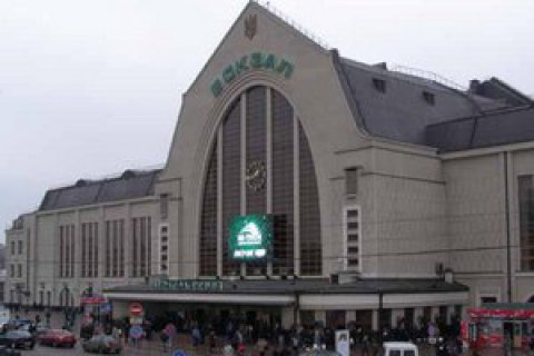Неизвестные напали на фельдъегерей и отобрали оружие и корреспонденцию на ж/д вокзале в Киеве