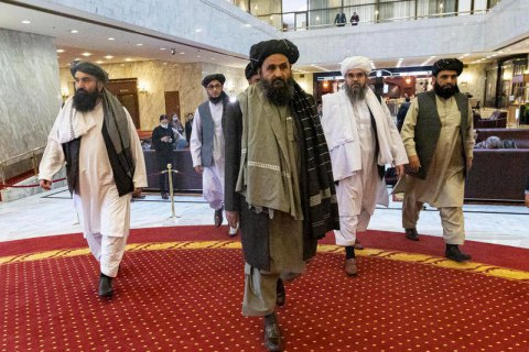 """Співзасновник """"Талібану"""" мулла Барадар повернувся в Афганістан з вигнання"""