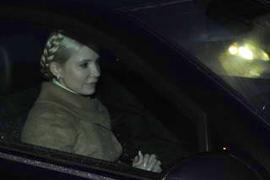 Тимошенко отпустили с допроса...до завтра