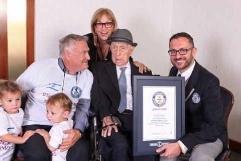 Помер найстаріший чоловік у світі