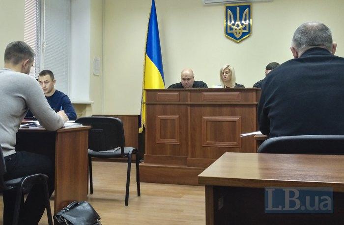 Представники сторін на засіданні у справі в Окружному адміністративному суді