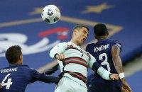 Забив украинцам 7 голов, сборная Франции не смогла забить ни одного в ворота португальцев в Лиге наций