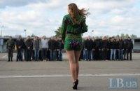 Первую партию призывников из Киева отправили в армию