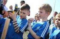 На Сумщине заложили фундамент будущей детской футбольной Академии