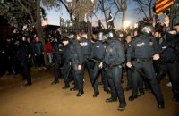 Заворушення в Барселоні: 13 постраждалих