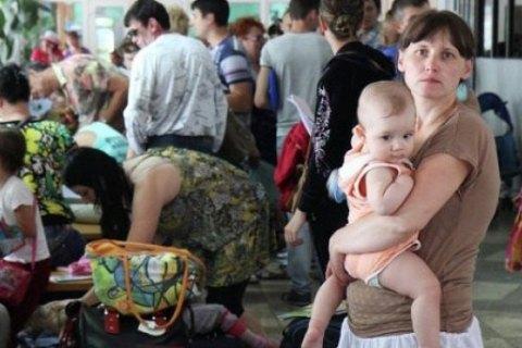 Количество вынужденных переселенцев превысило 1 миллион 376 тысяч